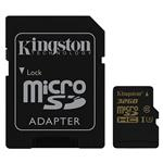 Kingston UHS-I U3 Gold Class 10 90MB/s MicroSDHC With Adapter 32 GB