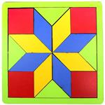 Yarat Symmetry Wooden Block 16 Pieces Intellectual Game