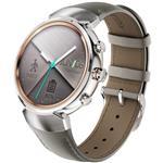 ساعت هوشمند ایسوس مدل زن واچ 3 بدنه استیل و بند چرمی بژ - Asus Zenwatch 3 WI503Q SmartWatch With Silver Stainless Steel Case with Beige Leather Band