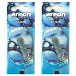 Areon Liquid 5ml Oxygen Air Freshener Pack Of Two