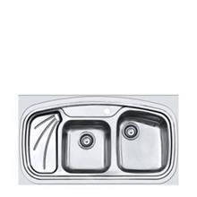 سینک ظرفشویی روکار اخوان 144 (سایز 60*100)