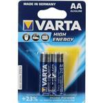 Varta High Energy Alkaline LR6AA Battery - Pack of 2
