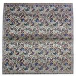 رومیزی ترمه ابریشمی کد 2033 سایز 100 × 100 سانتی متر