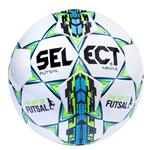 Select Mimas White Blue Futsal Ball