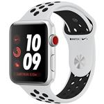 ساعت هوشمند اپل واچ سری 3 مدل Nike Plus 42mm Silver Aluminum Case with Pure Platinum/Black Nike Sport Band