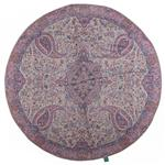 رومیزی ترمه حسینی ابریشمی طرح سالار  مدل 01-34 قطر 100 سانتیمتر