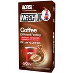 کاندوم ناچ مدل Coffee بسته 12 عددی