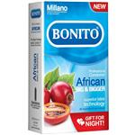 کاندوم بونیتو مدل African بسته 12 عددی