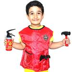 R1007 Ako Firefighters Costume Clothes
