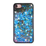 Luxury Case Floating Blue Hearts Cover For iPhone 7