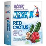 کاندوم ناچ مدل Red Cactus بسته 3 عددی