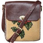 Heris 100062 leather and jajim Shoulder bag for women