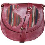 Heris 100063 leather and jajim Shoulder bag for women