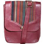 Heris 100064 leather and jajim Shoulder bag for women