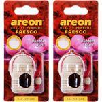 Areon Fresco Bubble Gum Car Air Freshener- Pack Of 2