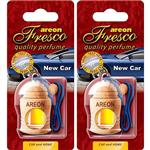 Areon Fresco New Car Air Freshener - Pack Of 2