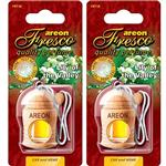 Areon Fresco Lily Of The Valley Car Air Freshener- Pack Of 2