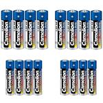 Camelion Super Heavy Duty AA And AAA Battery Pack Of 16
