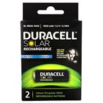 Duracell BL 18500 1000mAh Rechargeable Battery Pack Of 2