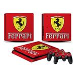 اسکین ps4 slim طرح Ferrari