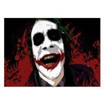 تابلو شاسی ونسونی طرح Joker Madness سایز 50 × 70