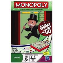 Hasbro Monopoly Games To Go 29188 Intellectual Game