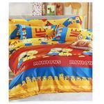 سرویس خواب کودک بهار مدل Minions - یک نفره 3 تکه