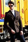 کت تک مردانه قهوه ای     Vavin -41610