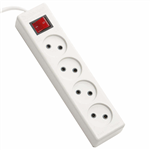 Farhan Electric F444 Power Strip 1.8m