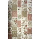 فرش ماشینی زمرد مشهد طرح 1721 زمینه صورتی