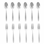 Spoon and fork 12PCS Stainless Steel 3mm