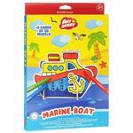 بسته مدل سازی اریک کراوزه مدل Marine Boat