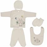 ست لباس نوزادی ببیتوف مدل 856