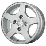 رینگ آلومینیومی چرخ مدل NW018 مناسب برای خودروی پژو 207