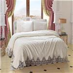 Armes Home Diana White Blanket Set 2 Person 6 Pieces
