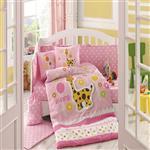 Hobby Home Puffy 1  Person 10 Pieces Baby Bed Cover Set