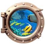 استیکر سه بعدی ویداوین طرح زیردریایی ماهی