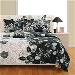 Swayam BSS D ZI 1954 Bed Sheet Set 2 Persons 6 Pieces