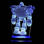 Noura Robotman 3D Night Light