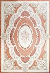 فرش مرینوس ترکیه کالیته گل باغچه مدل 055-510