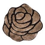 پادری استقلال گرد  طرح 3D مدل گل رز نسکافه ای