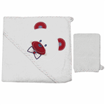 Albimini 311Red Towel Set 2PcsPin