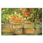 تابلو شاسی دکوگراف مدل Watercolor  کد 248 سایز 60x40 سانتی متر