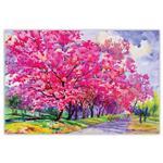 تابلو شاسی دکوگراف مدل Watercolor  کد 249 سایز 60x40 سانتی متر
