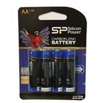 باتری قلمی سیلیکون پاور پک 4 عددی کربن