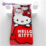 ست کاور و لحاف Hello kitty هلو کیتی - GUZEL