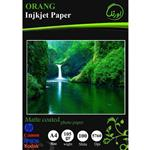 Orang Matte Coated Photo Paper A4 Pack Of 100