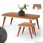 میز جلو مبلی و میز عسلی چوبی مدل وکیوم