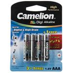 Camelion Digi Alkaline AAA Battery - Pack of 4