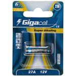 Giigacell Super Alkaline 27A Battery Pack Of 1